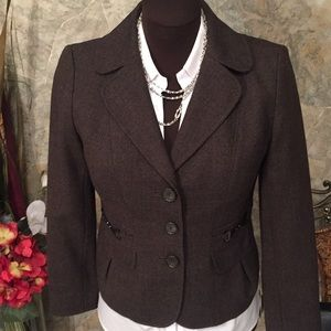 Ann Taylor 🌹 stunning suit jacket coat blazer